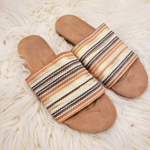 Chinese laundry slip-on sandals